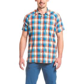 Maier Sports Halos t-shirt Heren oranje/blauw